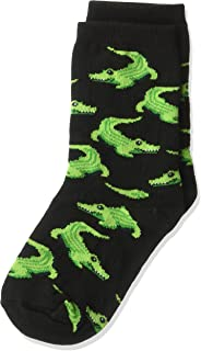 Hot Sox Boys` Big Animal Series Novelty Casual Crew Socks