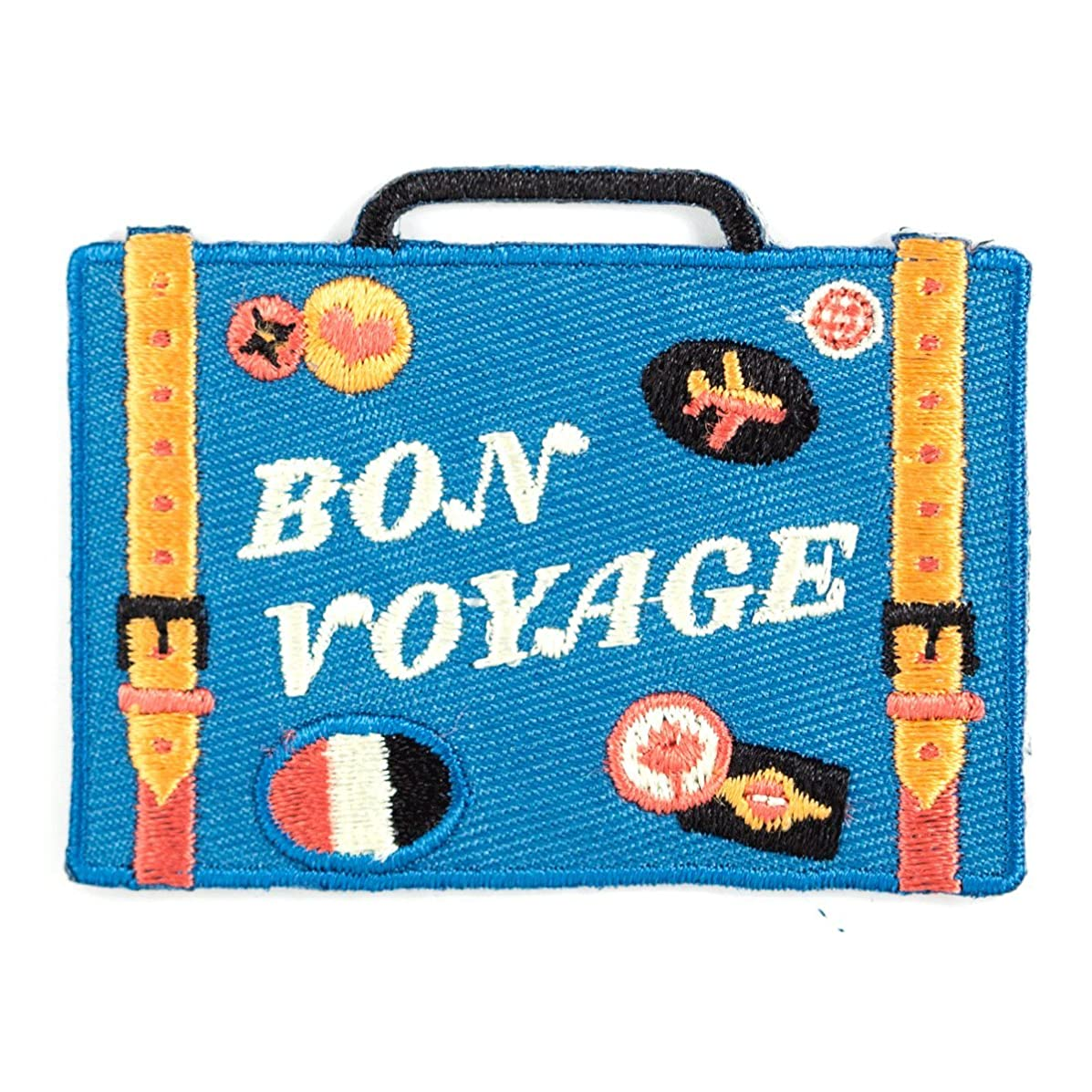 These Are Things Bon Voyage Embroidered Iron On or Sew On Patch
