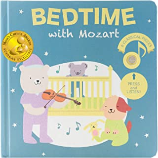 Cali's Books Bedtime with Mozart -Press, Listen and Enjoy The Sounds of Classical Music! Sound Book - Best Interactive and...