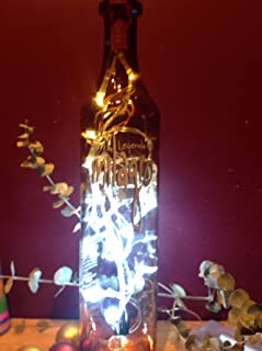 Milagro Tequila Upcycled Bottle Light-White LED