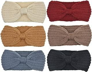 DRESHOW Hair Srunchies Scarves for Hair Women Elastic Chiffon Ponytail Holder Hair Ties Pack 6/8
