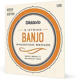 D'Addario EJ55 Medium Banjo Strings - Phosphor Bronze