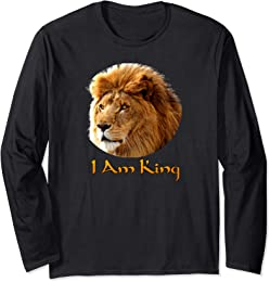 I Am King long sleeve t-shirt