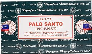 بخور Satya Nag Champa Palo Santo-12 بسته 15 گرم در 1 گرم (1)