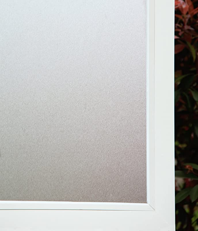 Concus T Premium Static Cling No Adhesive Vinyl Opaque Privacy Frosted Window Film 35 43 X118 11 90cmx300cm
