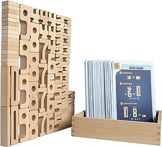 Kancharo サムブロックス 遊びながら数字が学べる積み木 知育玩具 日本語ガイド付き (サムブロックス・ミニ・ベーシックセット)