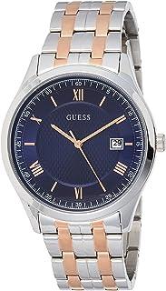 ساعة جيس بيزنس إليمينت كوارتز مينا زرقاء للرجال W1218G5