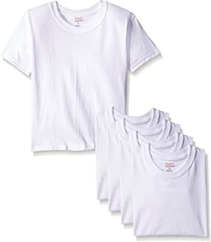 5-Pack Hanes Boys' Toddler Crew T-Shirts