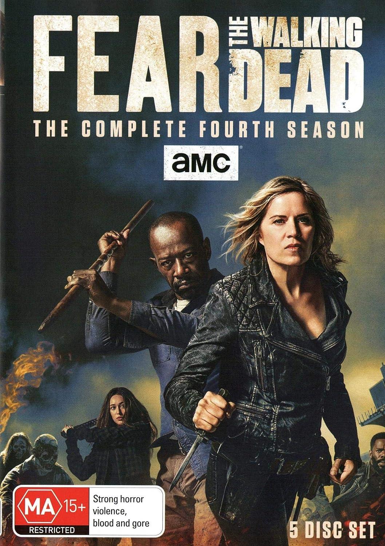 Fear the Walking Dead Season 4 | NON-USA Format | Region 4 Impor