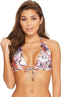 Cienfuegos Daniela Reversible Halter Bikini Top