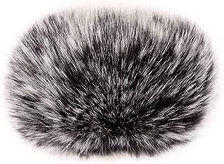 ChromLives Wind Muff H1 Windscreen Microphone Outdoor Furry Windscreen 2.5