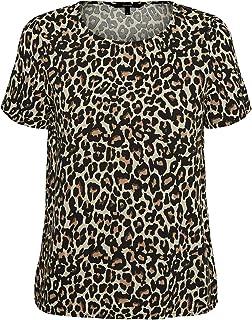 VERO MODA Dames Vmsimply Easy Ss Top Wvn Ga T-shirt