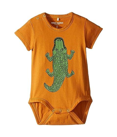 mini rodini Crocco Short Sleeve Bodysuit (Infant)