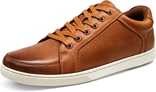 Men's Sneakers Leather Casual Shoes Breathable Business Casual Oxford Fashion Sneaker