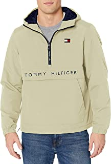 Men's Performance Fleece Lined Hooded Popover Jacket