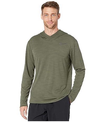 Nike Superset Top Long Sleeve Hoodie (Cargo Khaki/Black) Men