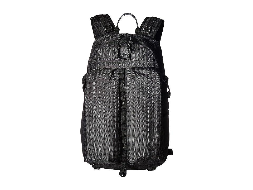 Burton Bravo Pack (True Black Heather Twill) Backpack Bags