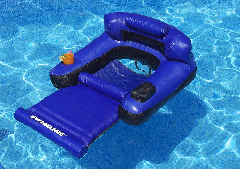 MOWE Buoyancy Rod Swimming Floating Chair Pool Seats Pool Noodle Chair Pool Floating Bed Chair for Kids /& Adults 3 Colors Blue 651500mm