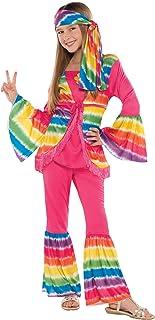 amscan Greaser Girl 50S Costume - Medium (8-10),  Multicolor