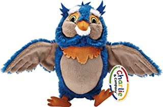 """School Zone - Owl Stuffed Animal Plush Toy """"Socrates"""" - Ages 1 Month+, Ultra Soft, Creative Play, Imagination, and More (C..."""
