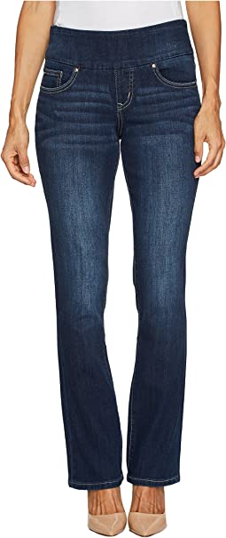 Jag Jeans Petite Petite Paley Pull-On Boot Surrel Denim in Meteor Wash