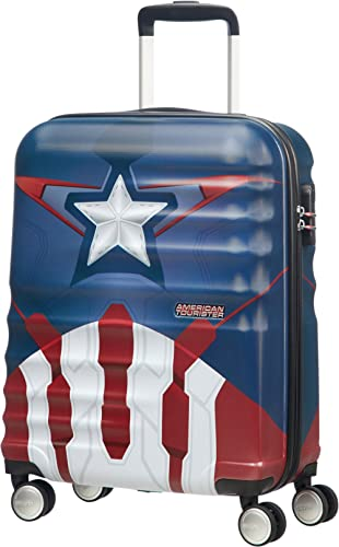 American Tourister Disney Wavebreaker - Spinner 55/20 Marvel 2.6 KG Bagage enfant, 55 cm, 36 liters, Multicolore (Cap...