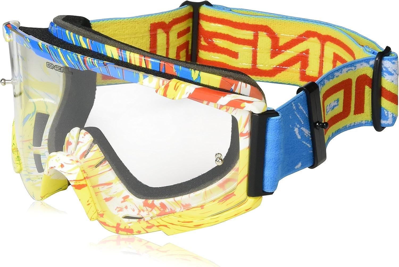 O Neal Oneal B2 Spray Mx Brille Farbe Blau Größe One Size Sport Freizeit