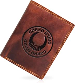 Corno d´Oro - Cartera para Hombre Hombre Marrón marrón