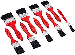 Werkzeyt Borstelset 9-delig - voor op water gebaseerde kleuren & lak - bestaande uit platte kwast met 13 - 63 mm breedte -...