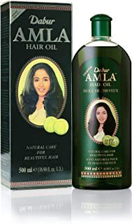 Dabur Amla Hair oil - Natural care for beautiful hair, 500ml (pack of 3)