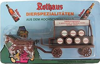Rothaus Brauerei Nr.01 - 5 Jahre Annetts Getränke Center - Bierkutsche mit 2 Pferden