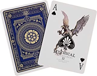 Gent Supply Bicycle Mythical Creatures II (All New Creatures) Playing Cards