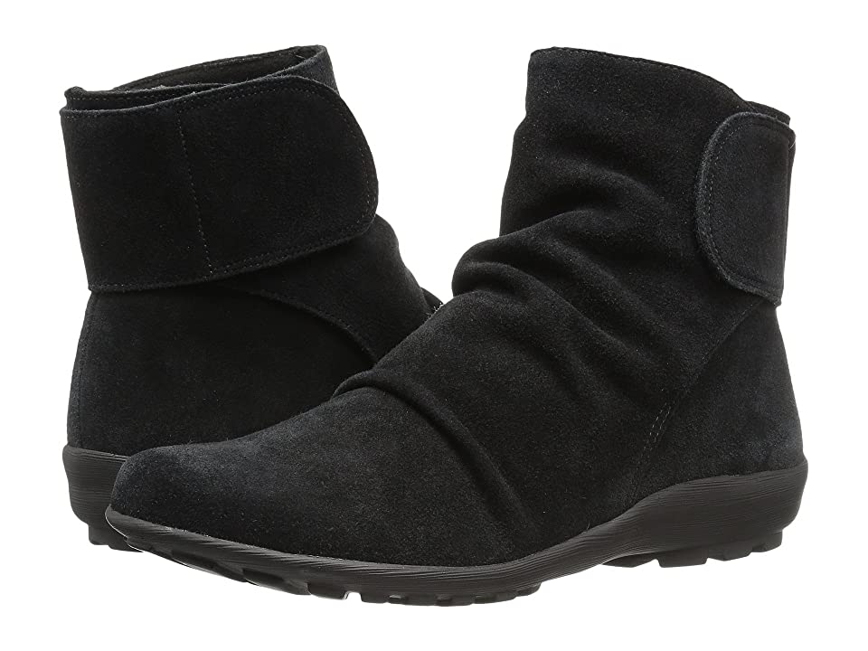 Walking Cradles Harlow (Black Max Suede) Women