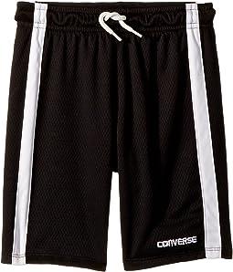 Chevron Vent Mesh Shorts (Toddler/Little Kids)