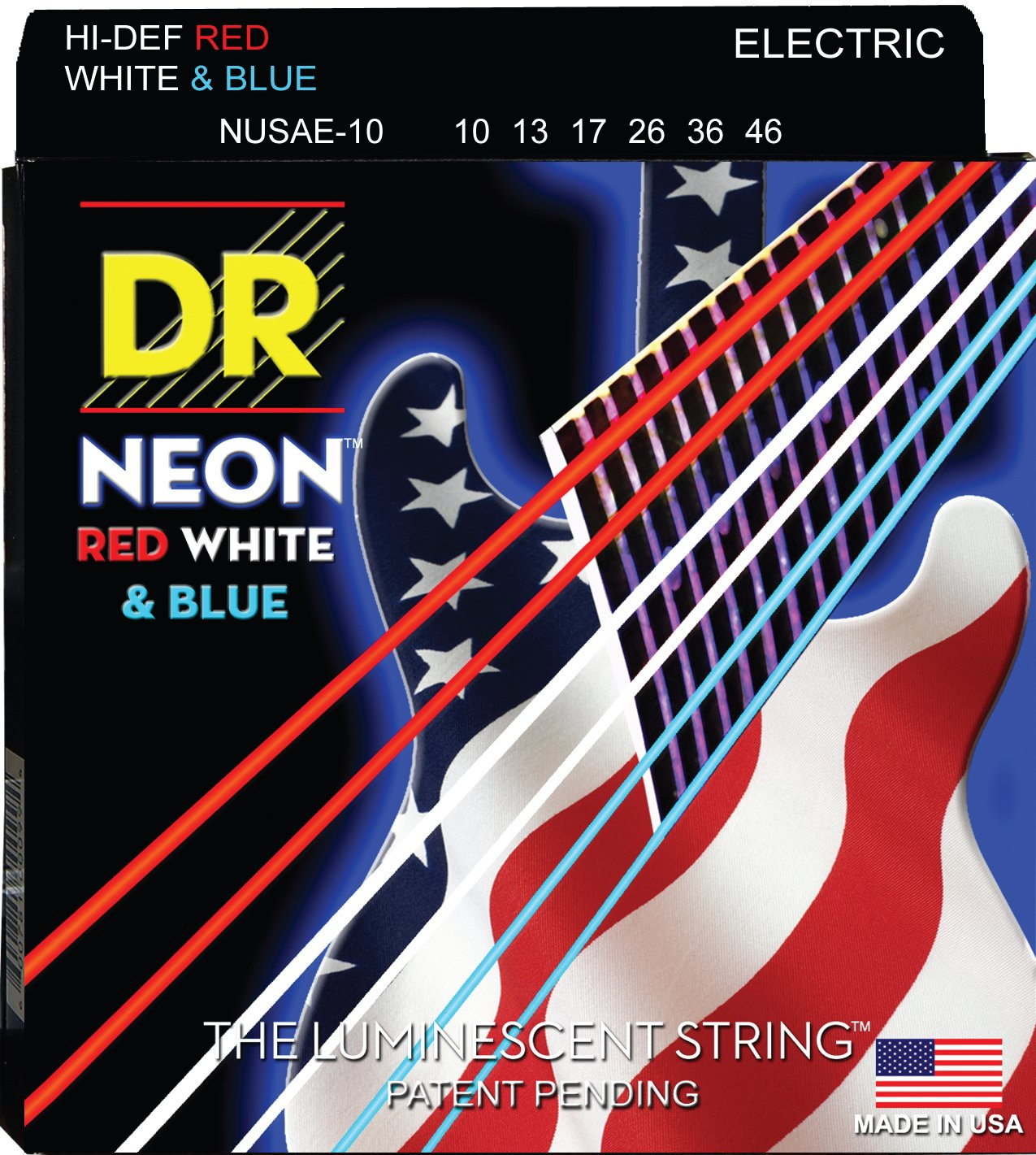 Cheap DR Strings HI-DEF NEON Electric Guitar Strings (NUSAE-10) Black Friday & Cyber Monday 2019