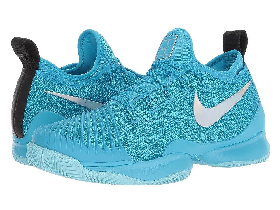 Nike Air Zoom Ultra React (Light Blue Fury/Metallic Silver/Neo Turquoise) Women
