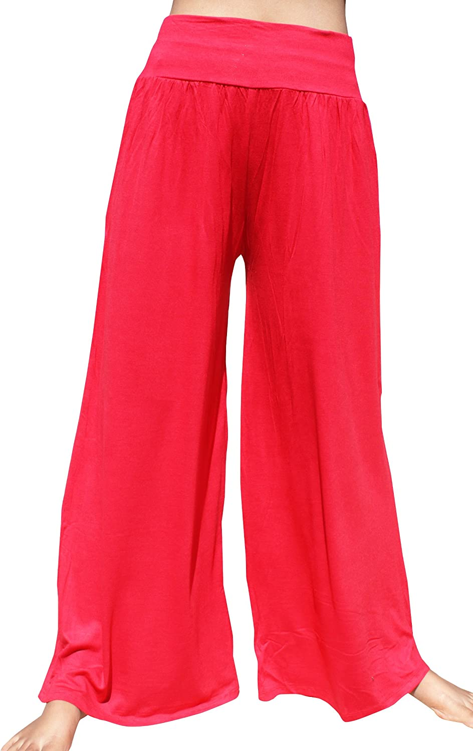 Full Funk 60s Retro Legging Style Thick Spandex Wide Flared Leg Pants
