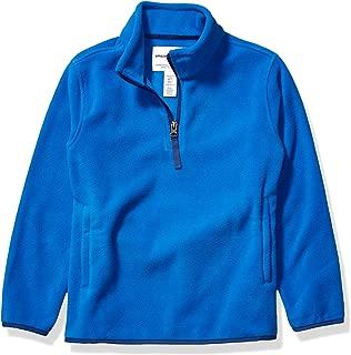 Boy's Quarter-Zip Polar Fleece Jacket