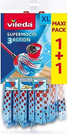 Vileda SuperMocio 3Action XL Refill, Twin Pack