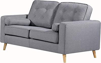Amazon Com Zinus Jackie Classic Upholstered 53 5 Inch