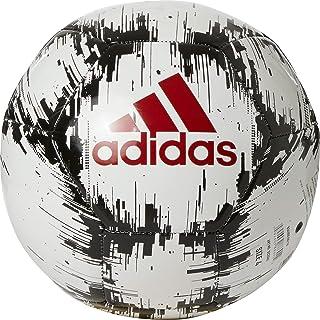 adidas Glider 2 Soccer Ball (White/Red/Black, 4)