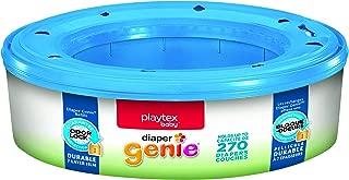 Playtex Diaper Genie Refill Bags, Ideal for Diaper Genie Diaper Pails, 270 Count