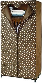 Wenko 86503500 Pretty Woman Armoire de Rangement pour vêtements Polyester Marron 75 x 160 x 50 cm