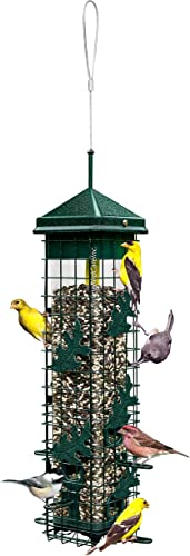 Squirrel-Solution200-Squirrel-proof-Bird-Feeder-w/6-Feeding-Ports