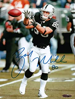 a62056149cf Zach Miller Signed 8X10 Photo Autograph Raiders About to Catch UDA Upper  Deck