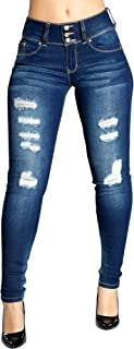 Womens Your Daily Ripped Jeans