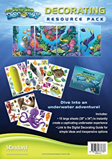 Decorating Resource Pack (Vacation Bible School (VBS) 2016: Deep Sea Discovery God Is with Me Wherever I G)