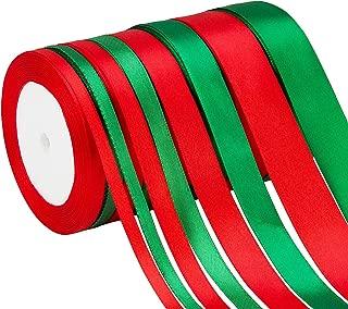 neon green satin ribbon
