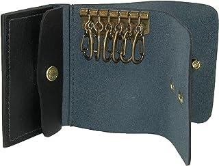 CTM Men's Leather Double Key Case
