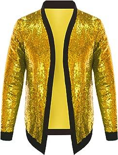 Best gold sequin jacket mens Reviews